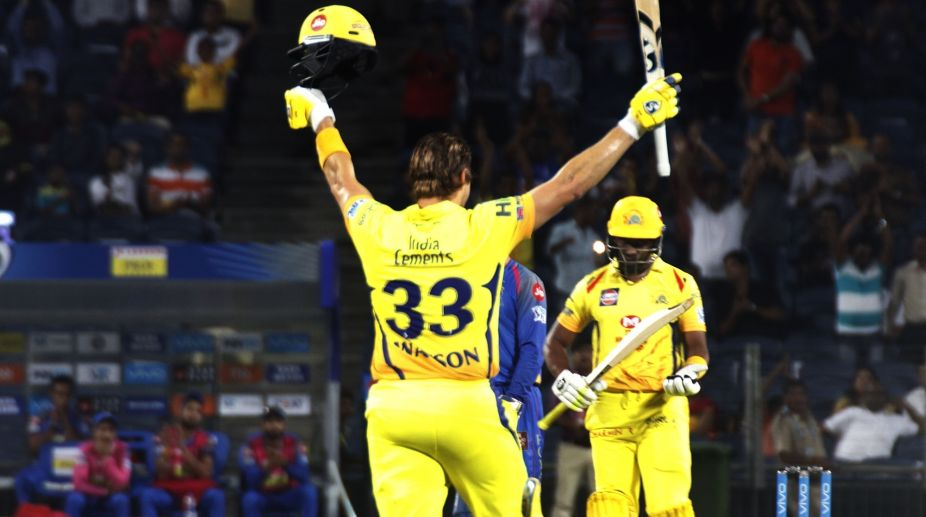 Shane Watson's century made way for an inspiring CSK comeback in IPL 2018 || Image Source: BCCI