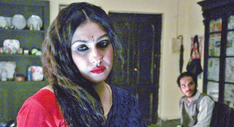 Rituparna Sengupta and Ritwick Chakraborty in Rong Beronger Kori