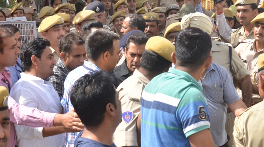 Salman Khan walks out of court