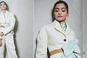 Sonam Kapoor slays in pantsuit chic look