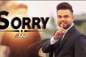 Sorry (Full Video) – Akhil