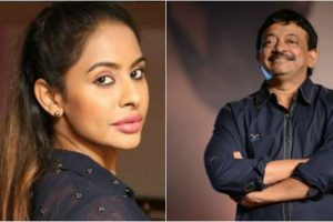 Sri Reddy has become 'national celebrity' says Ram Gopal Varma