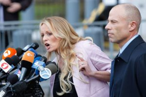 Stormy Daniels' lawsuit against Trump lawyer halted