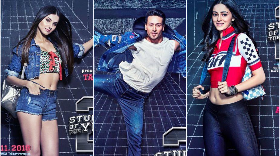 Student of the Year 2, Tiger Shroff, Tara Sutaria, Ananya Panday