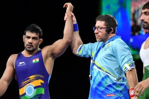 CWG 2018: Wrestlers Aware, Sushil advance to finals