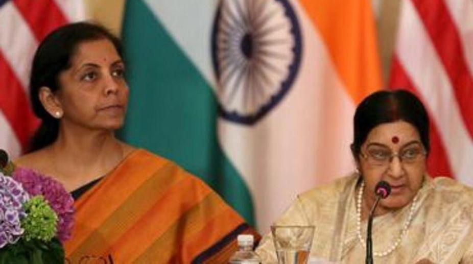 2+2 Dialogue, External Affairs Minister, Sushma Swaraj, Defence Minister, Nirmala Sitharaman, Mike Pompeo, James Mattis