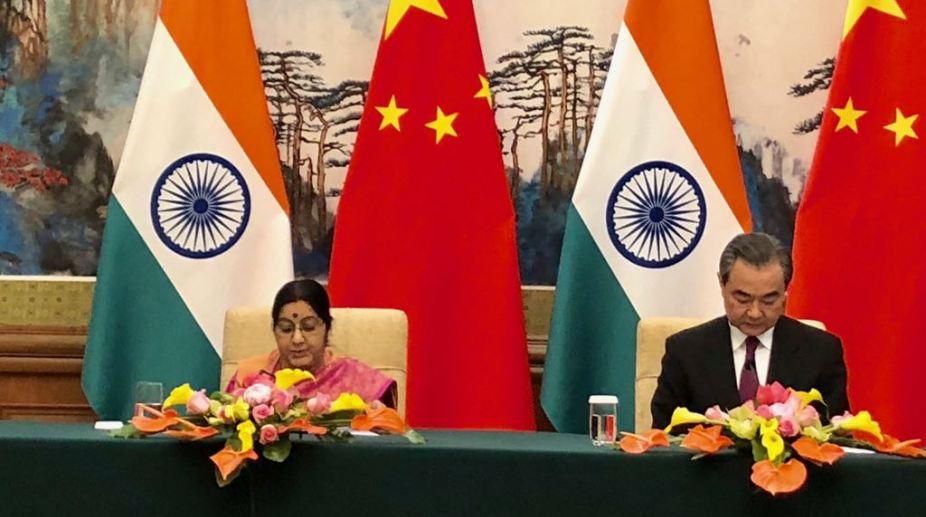 Sushma Swaraj Wang Yi
