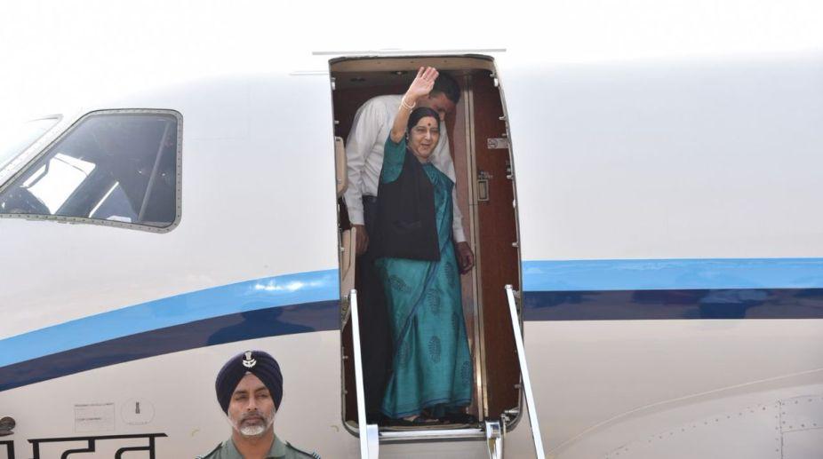 Sushma Swaraj, MEA