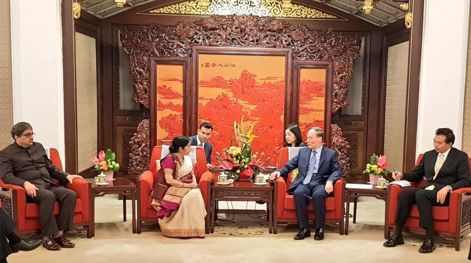 Sushma Swaraj in China