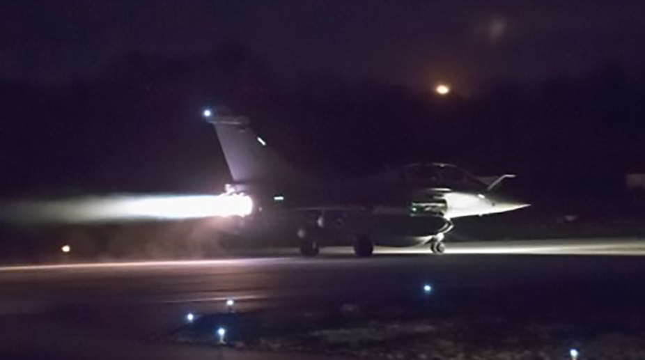 Russian Federation  slams joint airstrikes in Syria