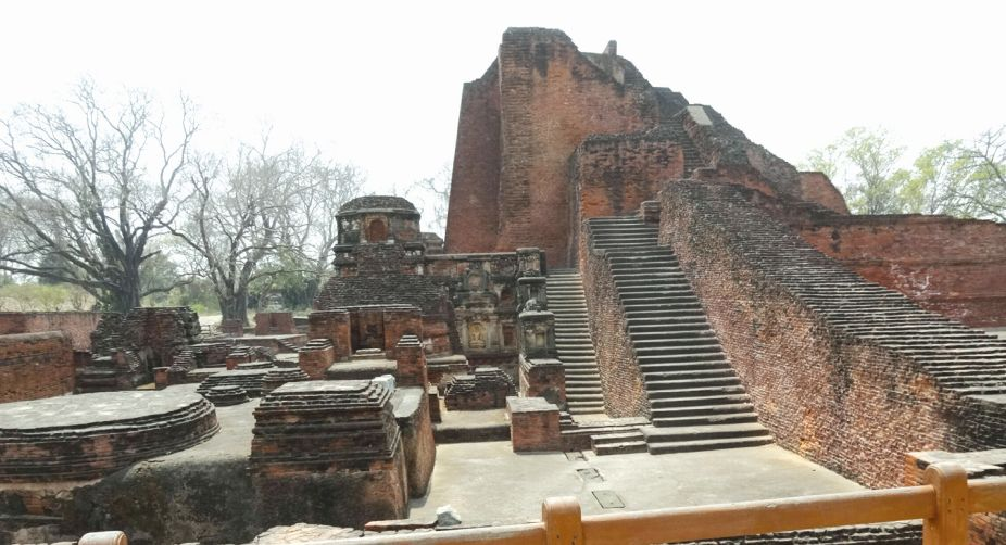 Ruins of Nalanda Mahavihara
