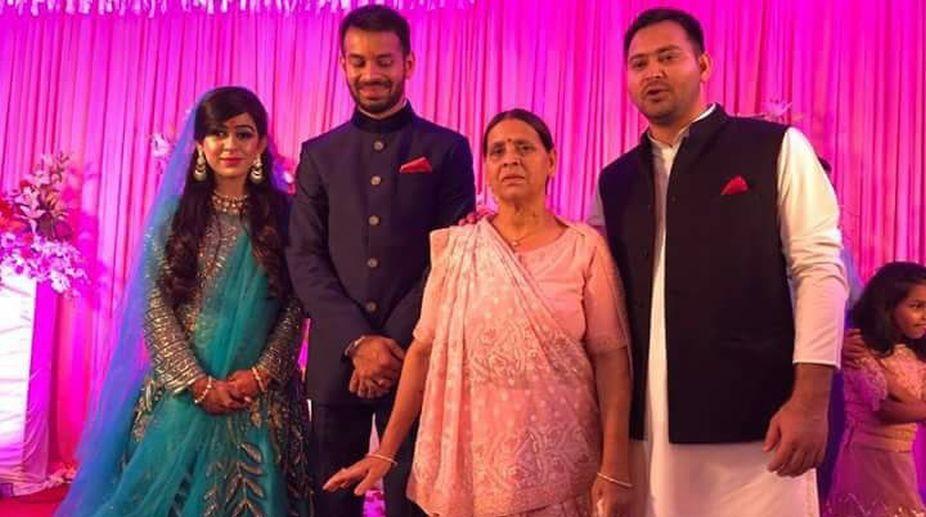 Lalu Yadav, Tej Pratap Yadav, Tej Pratap wedding, Rabri Devi, RJD Chief, Aishwarya Rai, Former Bihar CM