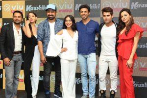 Rannvijay, Sayani at launch of web series 'Kaushiki' in Mumbai