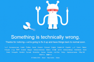 Twitter down. Did you miss it?
