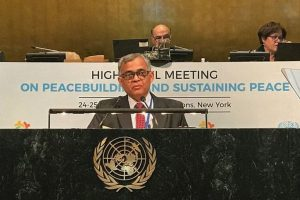 UN peacebuilding efforts held back by lack of funding: India