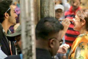 Anushka Sharma, Varun Dhawan's Sui Dhaaga shooting snaps are worth a look
