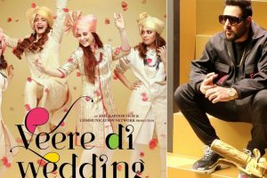 Badshah to lend voice to song for first time in 'Veere Di Wedding'