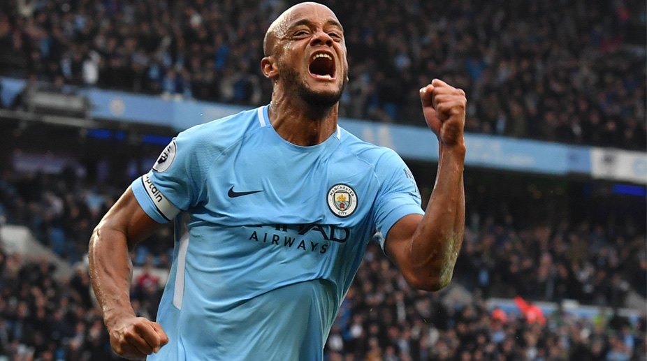 Vincent Kompany, Manchester City F.C., Premier League, Manchester City vs Manchester United
