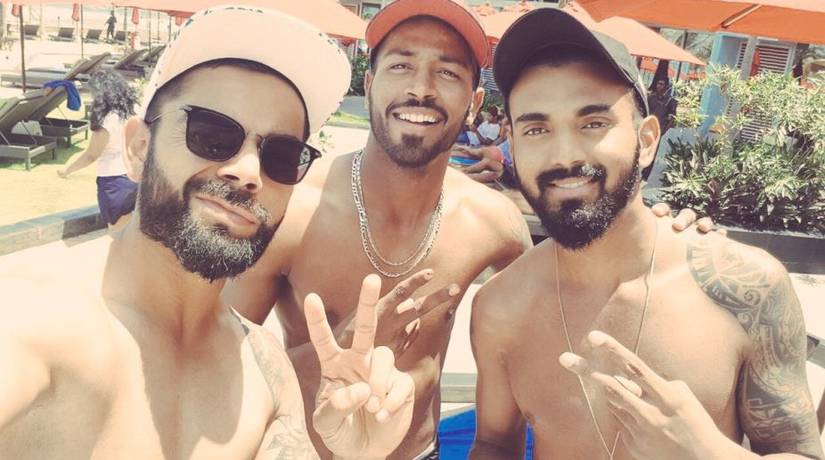 Will walk around shirtless in Oxford, Virat Kohli