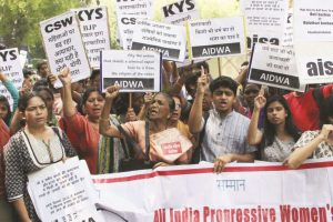 Women and students bodies decry Unnao, Kathua outrages