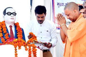 Ambedkar Mahasabha confers Dalit Mitr award on Yogi Adityanath