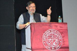 Zakir Husain memorial lecture delivered