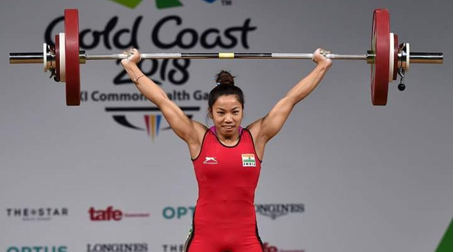 Lifter Chanu wins first gold for India at Commonwealth Games