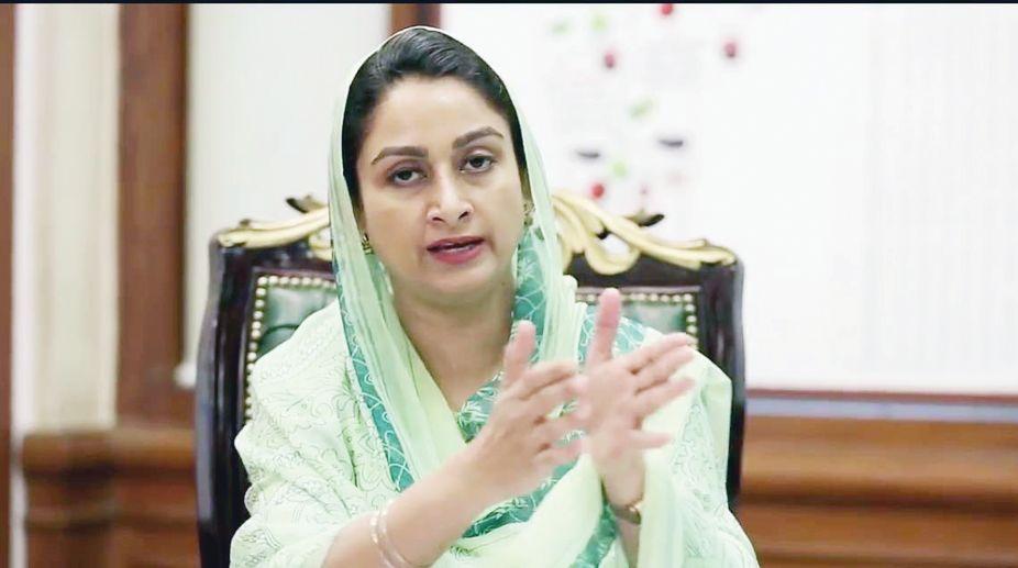 Union Cabinet Minister, Harsimrat Kaur Badal