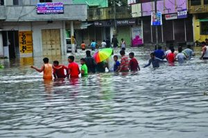 Over 1,380 people rescued by army in flood-hit Manipur, Tripura