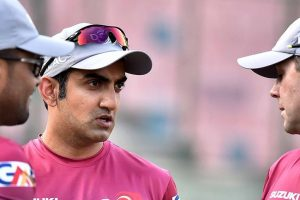 No dearth of support for Gautam Gambhir at Kotla