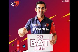 IPL 2018: Here is what Gautam Gambhir said after losing toss