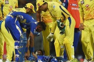 IPL 2018: Hardik Pandya carried off field after sustaining ankle injury