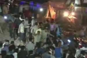 At least 10 dead, many injured as hotel building collapses in Indore