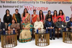 Indian community critical in fortifying ties with Equatorial Guinea: Kovind