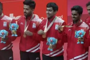 CWG 2018: Sharath-Sathiyan, Harmeet-Sanil advance in TT men's doubles