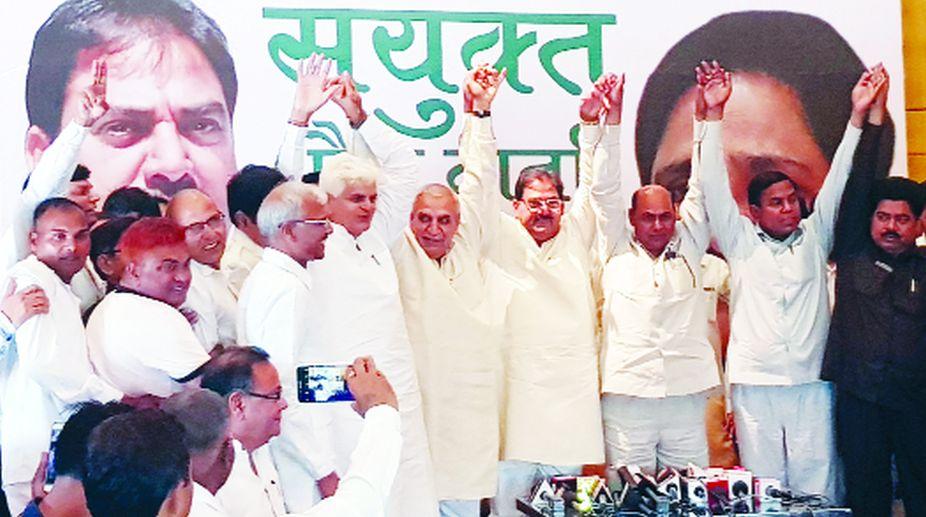 INLD-BSP, Anti BJP parties, Haryana,