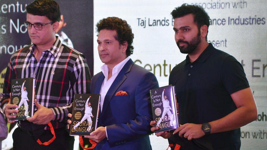 Rohit Sharma, Sourav ganguly, Sachin Tendulkar