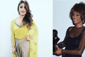 Dhvani Bhanushali pays tribute Whitney Houston