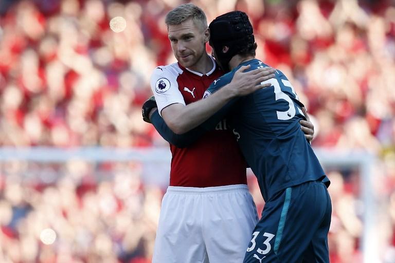 Per Mertesacker, Petr Cech, Arsenal F.C., Premier Leauge