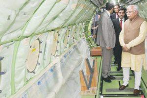 Khattar seeks Israeli aerospace units in Hisar aviation hub