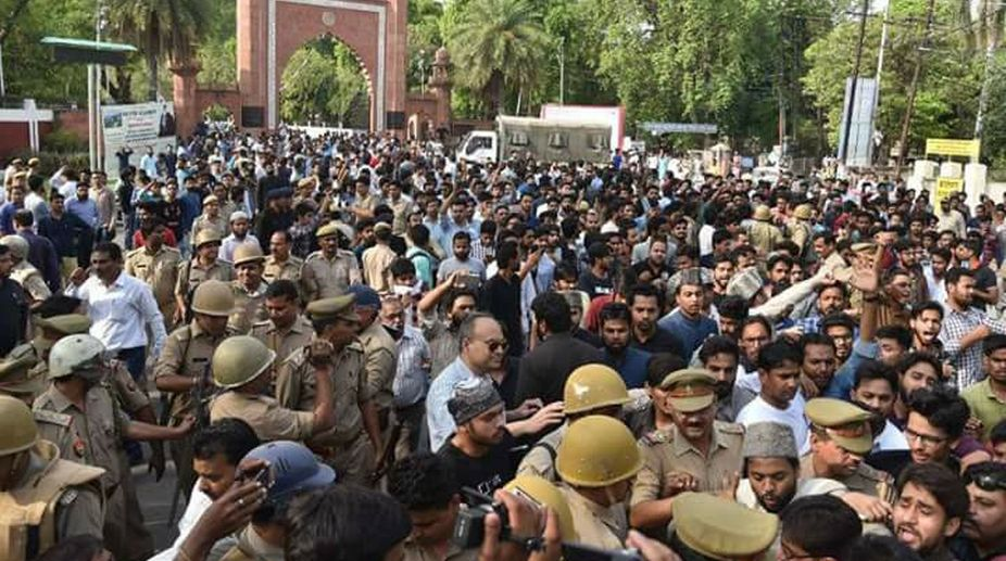 AMU Vice Chancellor, Aligarh Muslim University, Tariq Mansoor, AMU violence