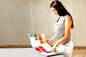 All about colours, fabrics and textiles