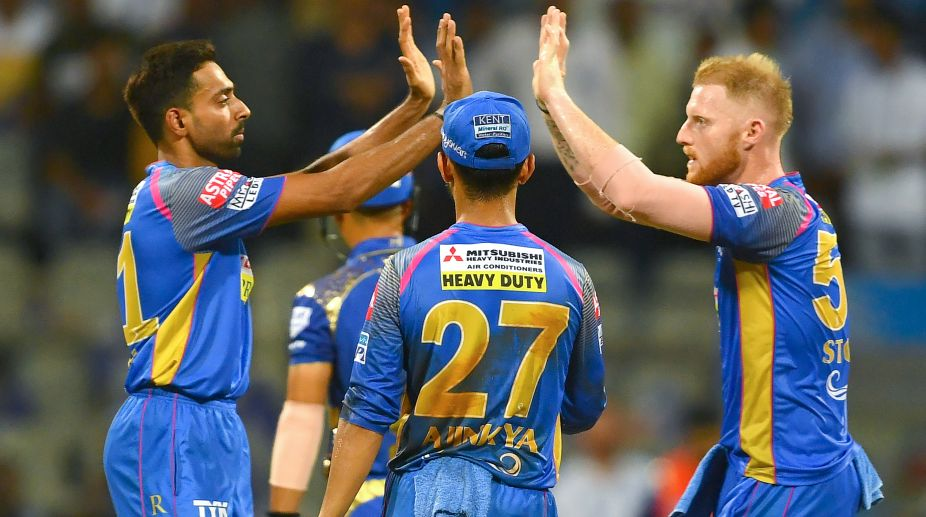Kolkata Knight Riders opt to bowl vs Rajasthan Royals