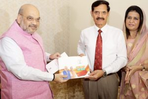 Amit Shah meets ex-army chief, kicks off 'Sampark se Samarthan' programme