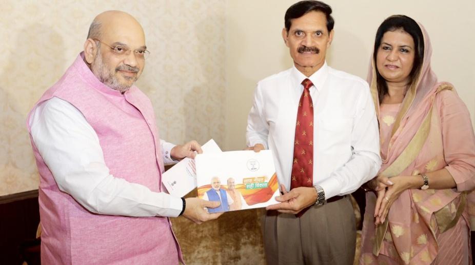 Amit Shah, BJP President, Sampark se Samarthan, Dalbir Singh Suhag