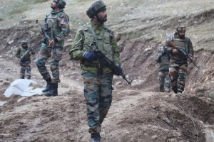 Three terrorists killed in infiltration bid in J-K