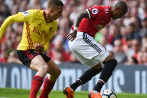 Manchester United, England defender Ashley Young's got 2 things on his mind