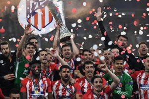 UEFA Europa League final: Atletico Madrid crush Olympique de Marseille