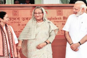 Hasina seeks India's help for Rohingya repatriation