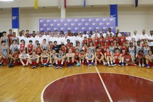 Amjyot Singh and Satnam Singh coach campers at BWB Asia 2018